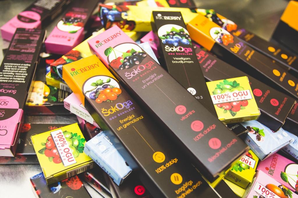 ricberry produkcija gardumi Latvijas suvenīrs