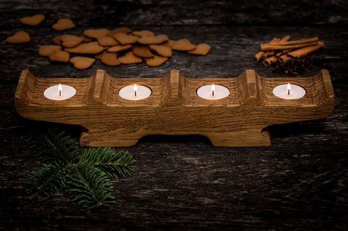 irwood koka svečturi  ziemassvētku dāvanas
