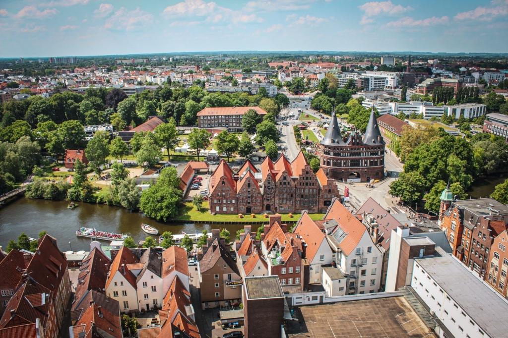 apskates vietas lībekā vācija hanzas pilsēta