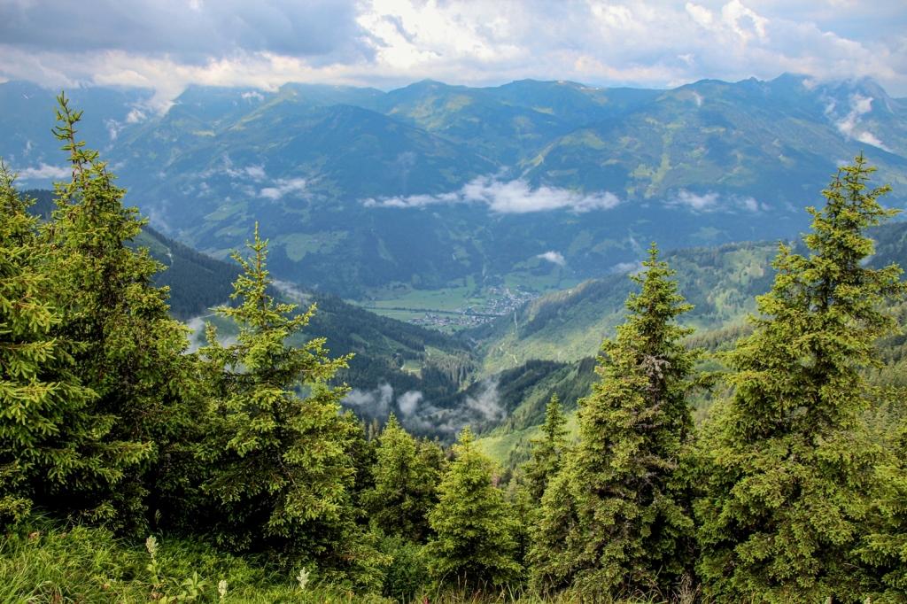 Dorfgašteinas ieleja, austrijas alpi