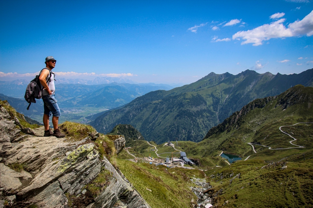 Kapruna, Austrija alpi