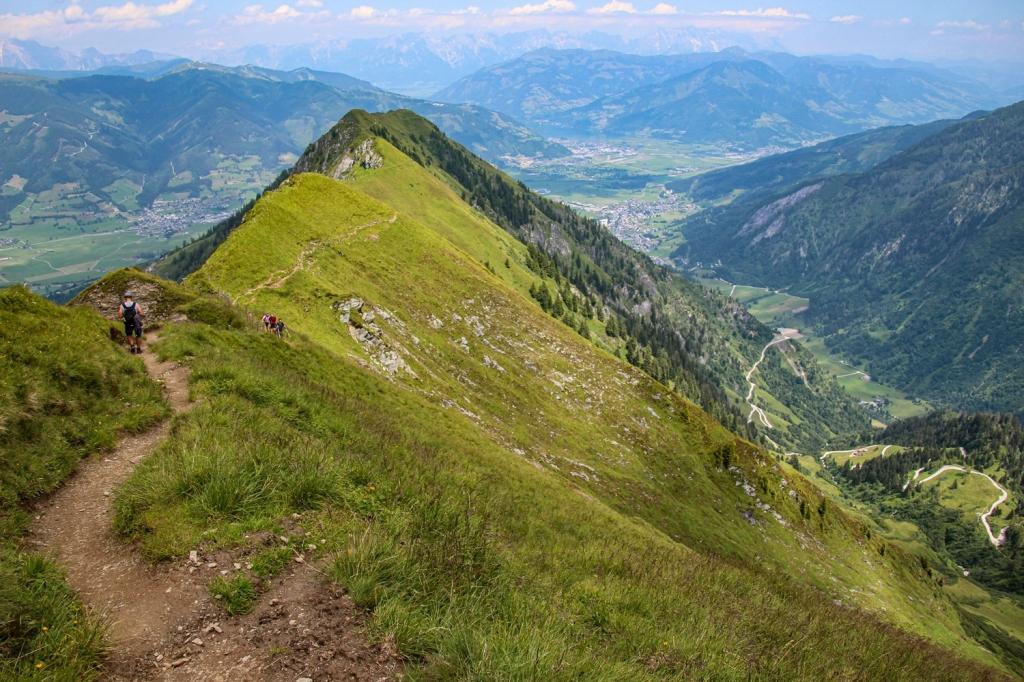 Kaprunas ieleja, Austrija alpi