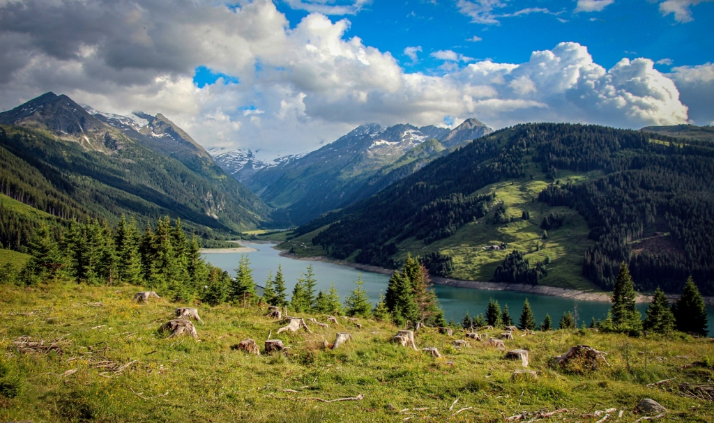 vācija Alpi austrija kalni