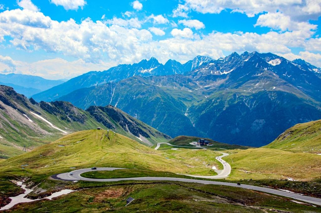 Grosgloknera Alpu panorāmas ceļš