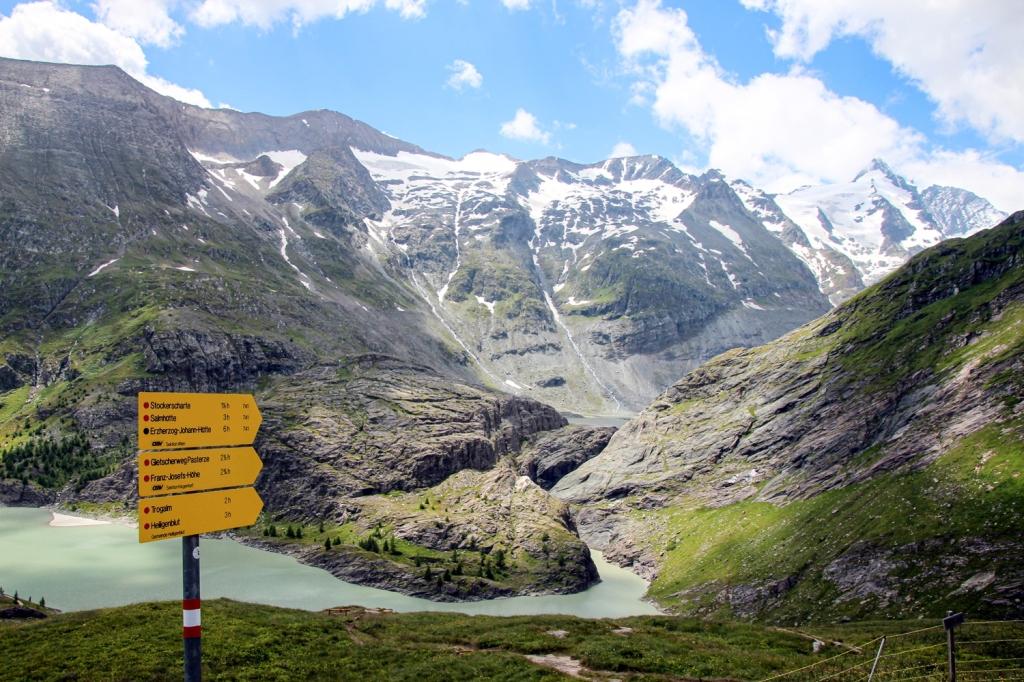 Grosgloknera Alpu panorāmas ceļš austrija