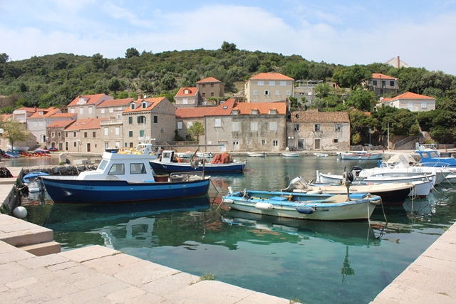 horvātija ar auto ceļojums marina